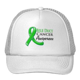 Bile Duct Cancer Awareness Ribbon Mesh Hat
