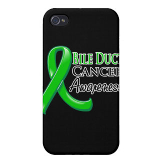 Bile Duct Cancer Awareness Ribbon Case For iPhone 4