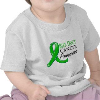 Bile Duct Cancer Awareness Ribbon Tshirt