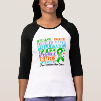 Bile Duct Cancer Believe Strength Determination Shirts