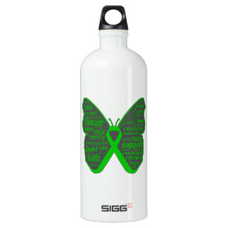 Bile Duct Cancer Butterfly Collage of Words SIGG Traveler 1.0L Water Bottle