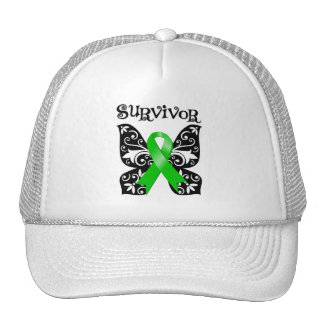 Bile Duct Cancer Butterfly Survivor Mesh Hats
