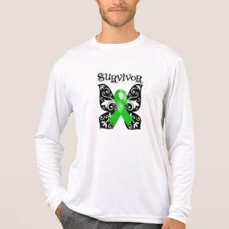 Bile Duct Cancer Butterfly Survivor T-shirt