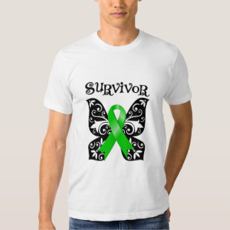 Bile Duct Cancer Butterfly Survivor Tee Shirts