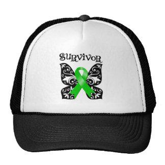 Bile Duct Cancer Butterfly Survivor Trucker Hat