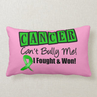 Bile Duct Cancer Can't Bully Me...I Fought I Won Throw Pillows