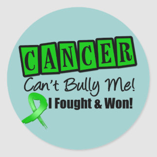 Bile Duct Cancer Can't Bully Me...I Fought I Won Stickers