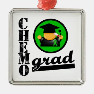 Bile Duct Cancer Chemo Grad Ornament
