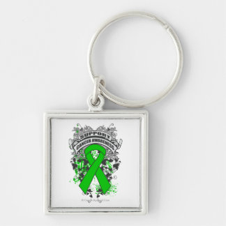 Bile Duct Cancer - Cool Support Awareness Slogan Keychain