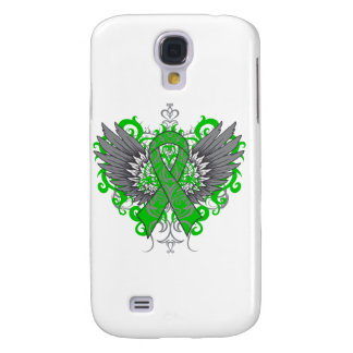 Bile Duct Cancer Cool Wings Galaxy S4 Cases