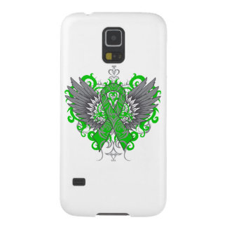 Bile Duct Cancer Cool Wings Galaxy S5 Cover