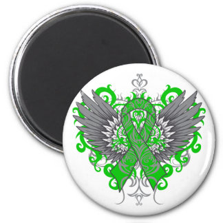 Bile Duct Cancer Cool Wings Refrigerator Magnet
