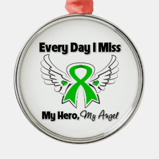 Bile Duct Cancer Every Day I Miss My Hero Ornament