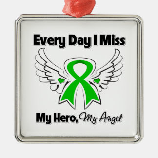 Bile Duct Cancer Every Day I Miss My Hero Christmas Ornament