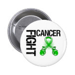 Bile Duct Cancer Fight Boxing Gloves Pin