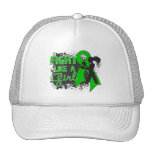 Bile Duct Cancer Fight Like A Girl Grunge Trucker Hat