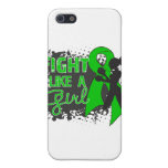 Bile Duct Cancer Fight Like A Girl Grunge iPhone 5 Case