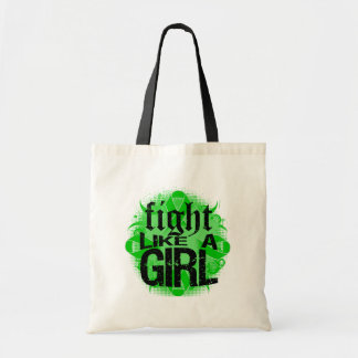 Bile Duct Cancer Fight Like A Girl Rock Ed. Canvas Bags