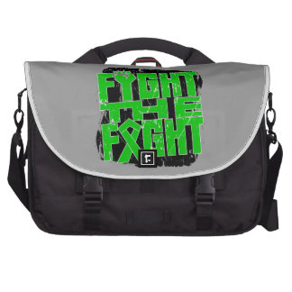Bile Duct Cancer Fight The Fight Laptop Messenger Bag