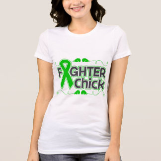 Bile Duct Cancer Fighter Chick T-Shirt