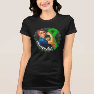 Bile Duct Cancer Fighter Gal T-Shirt