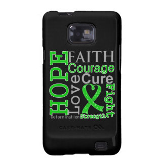 Bile Duct Cancer Hope Faith Motto Galaxy S2 Case