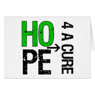 Bile Duct Cancer Hope For a Cure Greeting Card