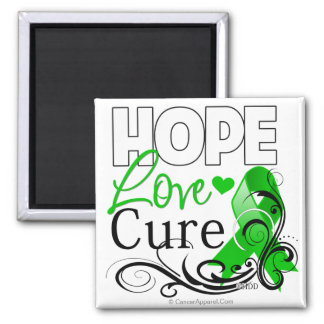 Bile Duct Cancer Hope Love Cure Magnet