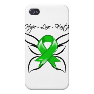 Bile Duct Cancer Hope Love Faith Cover For iPhone 4