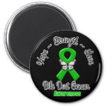 Bile Duct Cancer Hope Strength Love Magnets