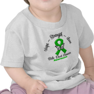 Bile Duct Cancer Hope Strength Love Shirt