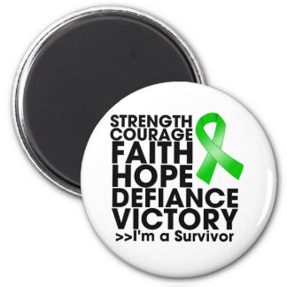Bile Duct Cancer Hope Strength Victory 2 Inch Round Magnet