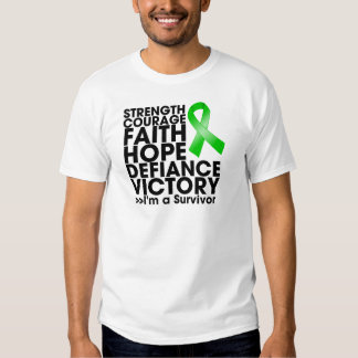 Bile Duct Cancer Hope Strength Victory Tee Shirt