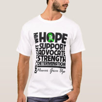 Bile Duct Cancer Hope Support Advocate T-Shirt