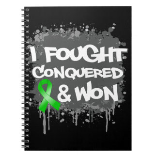 Bile Duct Cancer I Fought Conquered Won Note Books