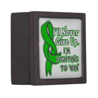 Bile Duct Cancer I'll Never Give Up Gift Box