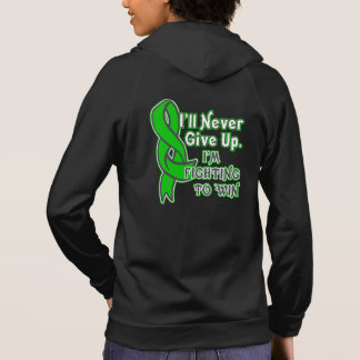 Bile Duct Cancer I'll Never Give Up Hoodie