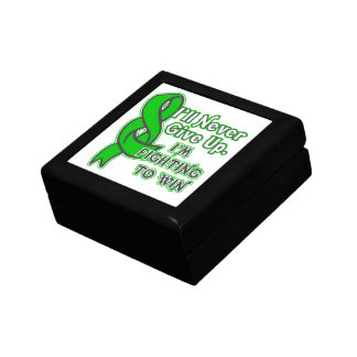Bile Duct Cancer I'll Never Give Up Jewelry Box