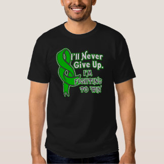 Bile Duct Cancer I'll Never Give Up T-shirt
