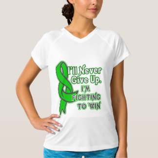 Bile Duct Cancer I'll Never Give Up Tee Shirt