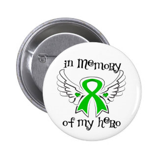 Bile Duct Cancer In Memory of My Hero Pinback Button
