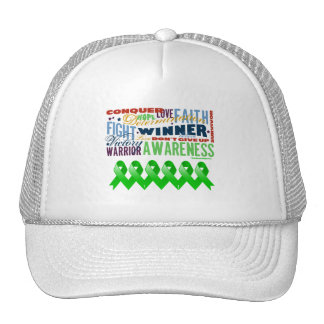 Bile Duct Cancer Inspirational Words Hat