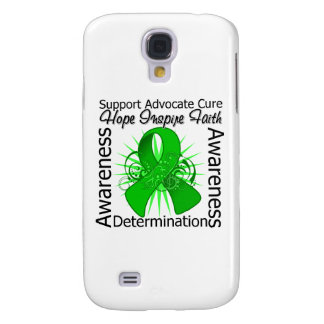 Bile Duct Cancer Inspirations Spiral Ribbon Galaxy S4 Case