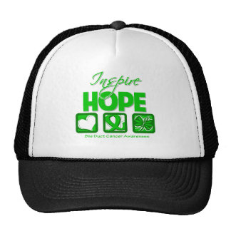 Bile Duct Cancer Inspire Hope Trucker Hat