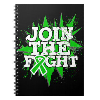 Bile Duct Cancer Join The Fight Spiral Notebooks