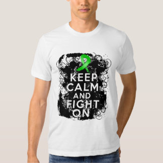 Bile Duct Cancer Keep Calm and Fight On Tee Shirt