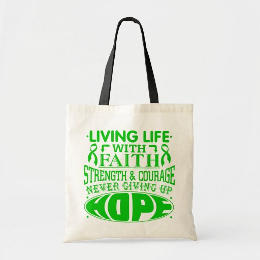 Bile Duct Cancer Living Life with Faith Bag