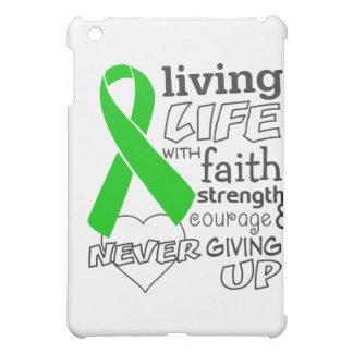 Bile Duct Cancer Living Life With Faith iPad Mini Cases