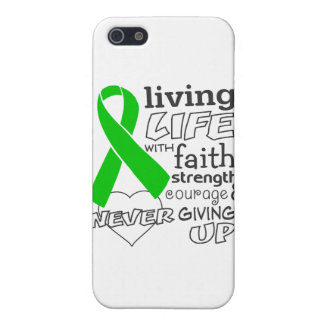 Bile Duct Cancer Living Life With Faith Case For iPhone 5