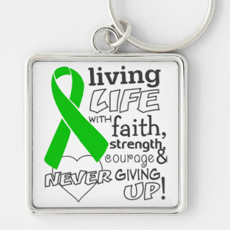 Bile Duct Cancer Living Life With Faith Key Chains